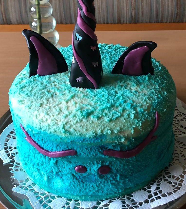 Einhorn-Torte!